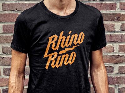 Rhinorino T-shirt Black-Orange main photo