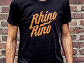 Rhinorino T-shirt Black-Orange photo
