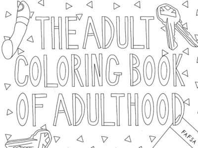 The Adult Coloring Book of Adulthood main photo