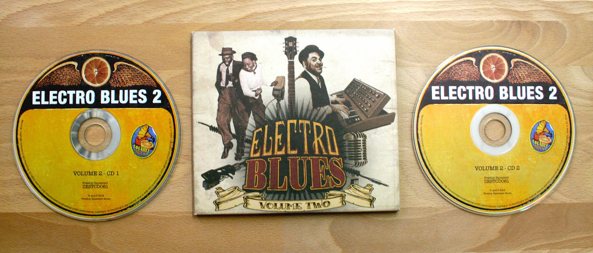 Electro Blues, Vol 2 - VINYL & CD BUNDLE | Freshly Squeezed Music
