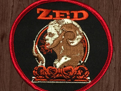 "ZED 3"" Devil Rose Patch main photo"