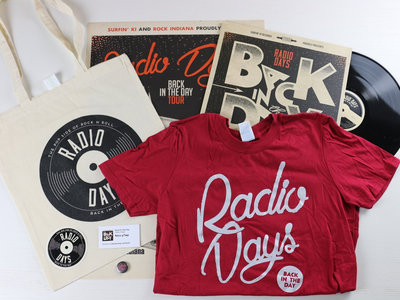 """SPECIAL OFFER! """"Back in the Day"""" Signed CD or LP + Digital Download + T-shirt + Sticker + Tote Bag + Pin + Poster! main photo"""