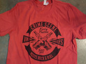 Soft Red Roots Rock n Roll Spark Plugs T-shirt photo