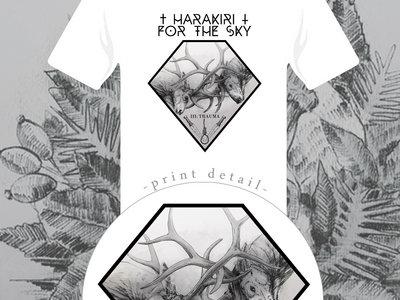Harakiri for the Sky - III: Trauma White Shirt & Girlie Shirt main photo