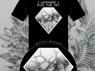 Harakiri for the Sky - III: Trauma Black Shirt & Girlie Shirt main photo
