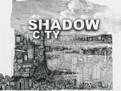 Shadow City #numbered print & signed of the original artwork main photo