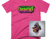 Cheapshot tee + CD bundle photo