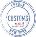 Customs image