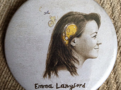 """Emma Langford"" Limited Edition EP Artwork Badge! main photo"