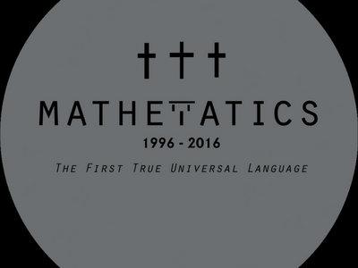 Mathematics limited 20th Anniversary slipmat (pair) main photo