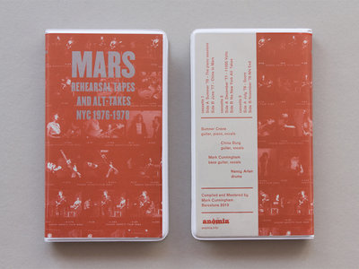 ANM001 Mars — Rehearsal Tapes and Alt​-​Takes NYC 1976​-​1978 Cassette Box Set (Edition 3) main photo