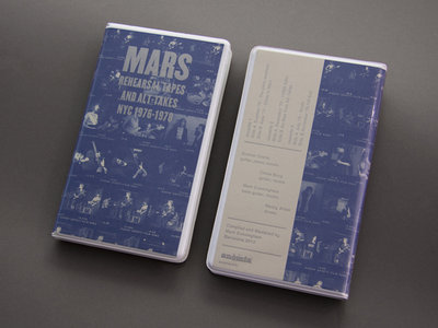 ANM001 Mars — Rehearsal Tapes and Alt​-​Takes NYC 1976​-​1978 Cassette Box Set (Edition 2) main photo