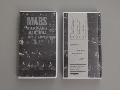 ANM001 Mars — Rehearsal Tapes and Alt​-​Takes NYC 1976​-​1978 Cassette Box Set (Edition 1) main photo