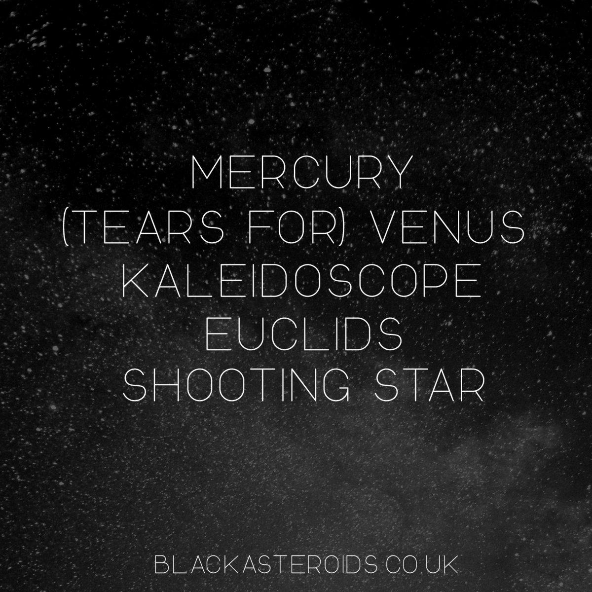 shooting star black asteroids