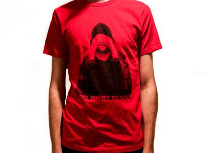 T-shirt Homme Rouge - Hola Les Lolos main photo