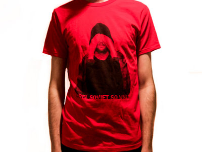 T-shirt Homme Rouge - Quéssé main photo
