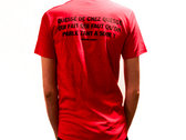 T-shirt Homme Rouge - Quéssé photo