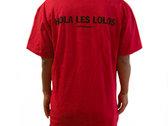 T-shirt Femme Rouge - Hola Les Lolos photo