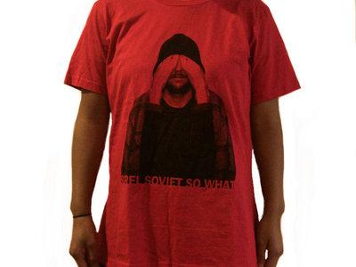 T-Shirt Femme Rouge - Quéssé main photo