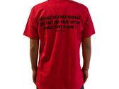 T-Shirt Femme Rouge - Quéssé photo