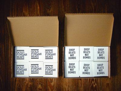 """Sticker - """"DROP BEATS NOT BOMBS"""" main photo"""