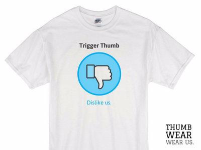 Dislike Us T-shirt (White) main photo