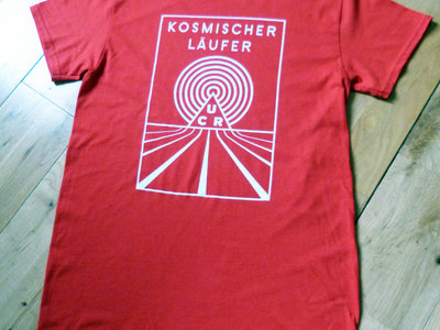Kosmischer Läufer Red T-Shirt main photo