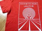 Kosmischer Läufer Red T-Shirt photo