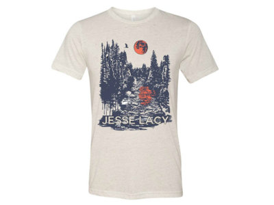 Forest Harvest Moon On River - T-shirt + FREE SONG DL main photo