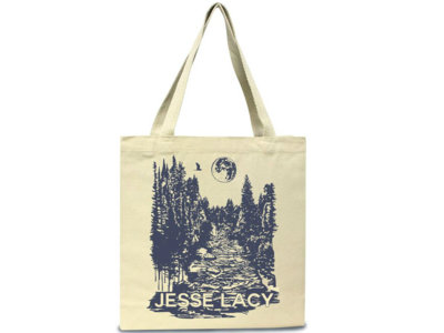 Forest Harvest Moon On River - Tote Bag + FREE SONG DL main photo