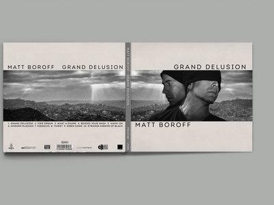 "Matt Boroff - ""Grand Delusion"" CD main photo"