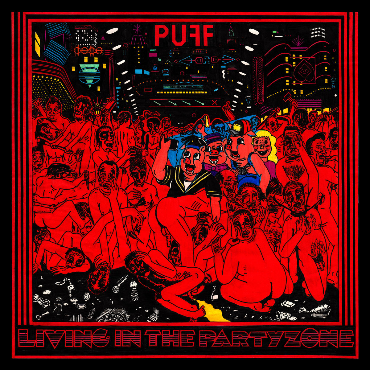 Αποτέλεσμα εικόνας για PUFF Living In The Party Zone