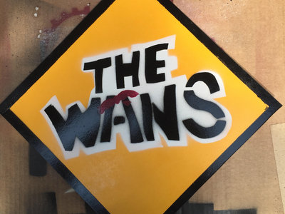 The Wans - Yield Sign - Hand-Printed by Bob Morley main photo