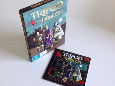 Tripod vs the Dragon DVD GOLD (Limited Edition) main photo