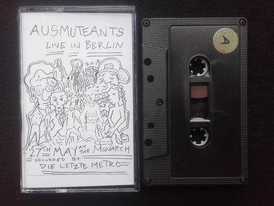 Ausmuteants - Live at the Monarch // Cassette main photo