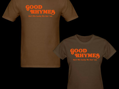 Good Rhymes T-shirt main photo