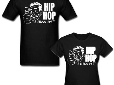 HIPHOP I like it! (Black) T-shirt main photo