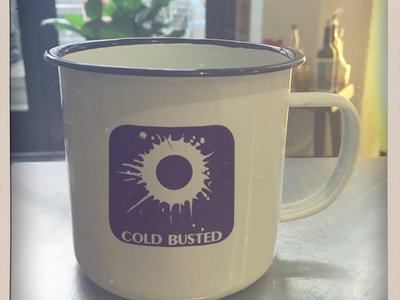 Cold Busted 16 oz Enamel Metal Mug main photo