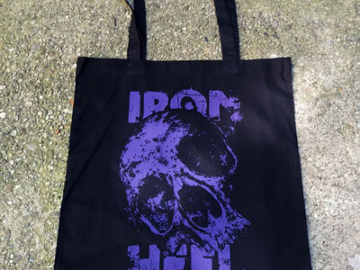 Skull Tote Bag Purple main photo
