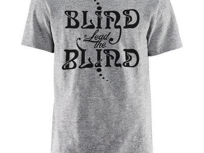 """Blind Lead The Blind"" Logo T-shirt (Light Grey/Black Logo) main photo"