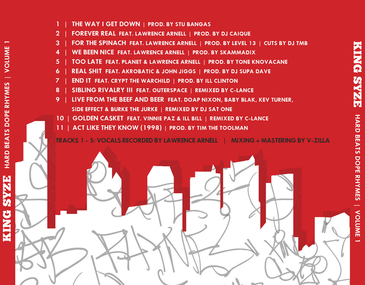 Hard Beats Dope Rhymes Vol 1   King Syze