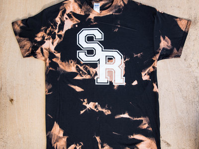 "Custom Bleached ""SR"" Logo Tee by SONREAL main photo"