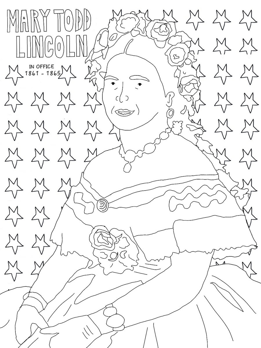 The coloring book clean -  The First Lady Coloring Book Clean Photo