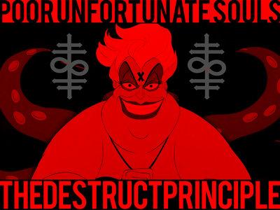 'UNFORTUNATES' - TDP Oversized Sticker from the 'Villains' Line main photo