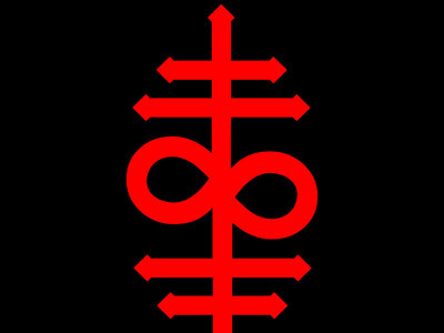 'LOGO' Sticker, Red main photo