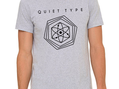 Quiet Type Shirt- Heather Grey main photo