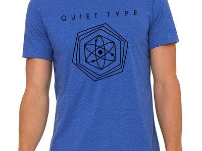 Quiet Type Shirt - Heather Blue main photo