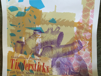 Tindersticks / Spain Silk-screened Poster main photo