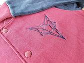 **SALE** Unisex | Shapeshifter Bomber Jacket FOX burgundy photo