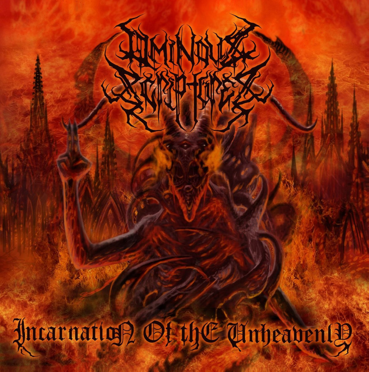 OMINOUS SCRIPTURES - Incantation Of The Unheavenly CD
